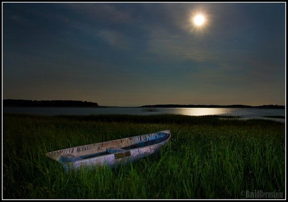 Rowboat in the Moonlight